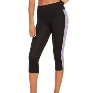 Ideology Colorblocked Cropped Leggings